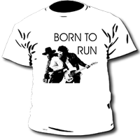Camiseta de chico BRUCE SPRINGSTEEN - BORN TO RUN