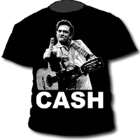 Camiseta de niño JOHNNY CASH