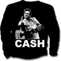 Camiseta de niño de manga larga JOHNNY CASH