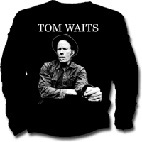 Camiseta de chico de manga larga TOM WAITS
