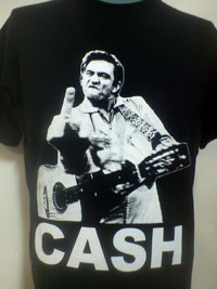 Camiseta de chico JOHNNY CASH